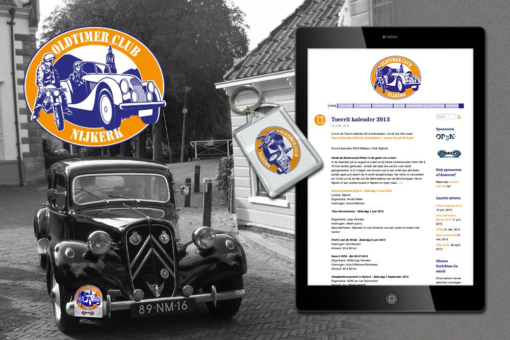 Sponsoring Oldtimer Club Nijkerk Het draait allemaal om passie, en daar houdt OP3N van!
