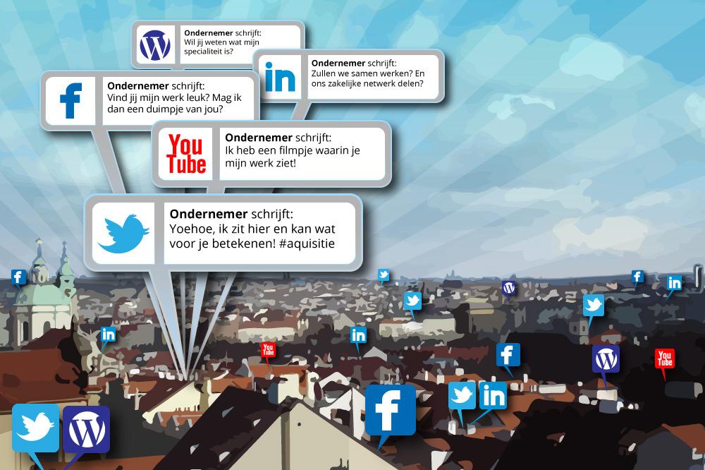 Social media in bedrijf Wat levert uw netwerk op